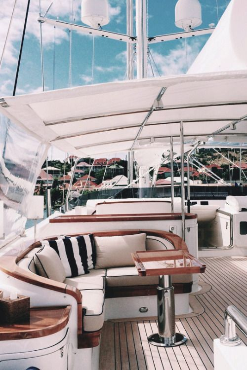 "livingpursuit: ""Yacht Interior """