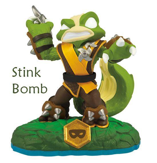Skylanders Swap Force Stink Bomb