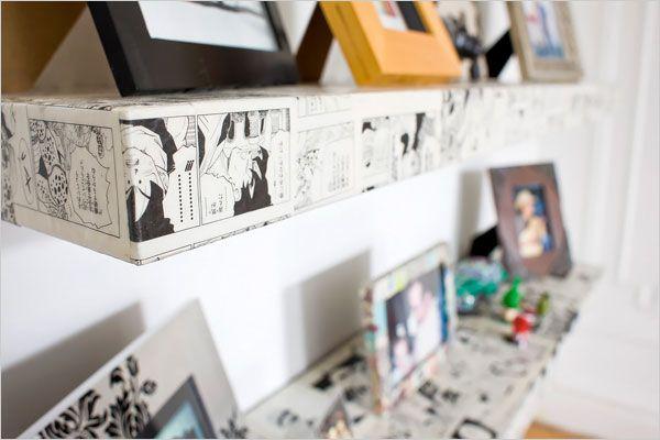 Comic Shelves - LOVE!
