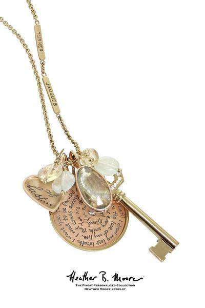 Heather Moore Jewelry Wedding Vow necklace