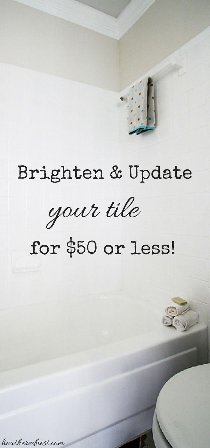 17 best ideas about painting bathroom tiles on pinterest   paint