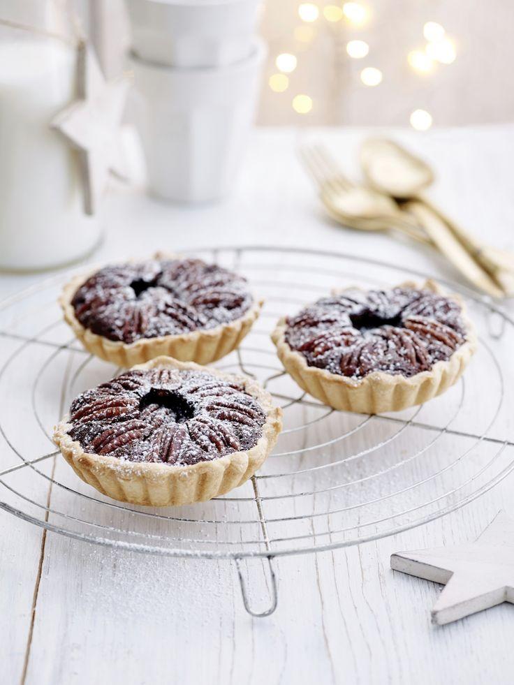 Minipecannotentaartjes (glutenvrij) - Libelle Lekker