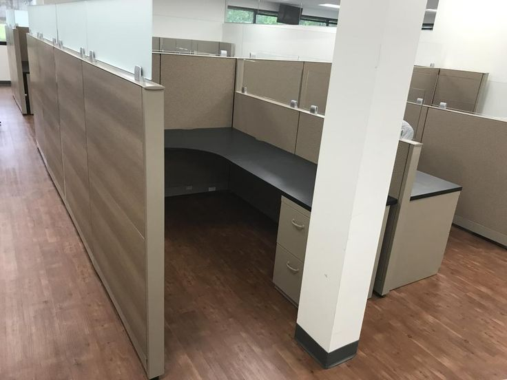 Wood Office Cubicles ~ Best refurbished office cubicles