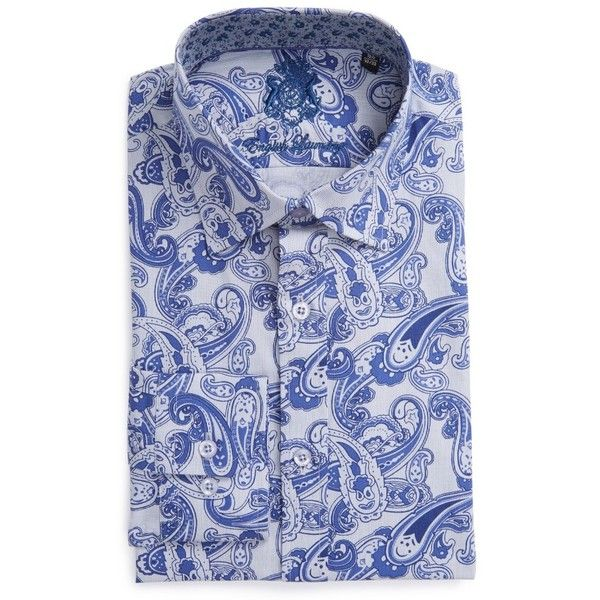 Men's English Laundry Trim Fit Paisley Dress Shirt (€90) ❤ liked on Polyvore featuring men's fashion, men's clothing, men's shirts, men's dress shirts, navy, mens navy blue dress shirt, men's collared shirts, mens paisley dress shirt, men's paisley print shirt and old navy mens shirts