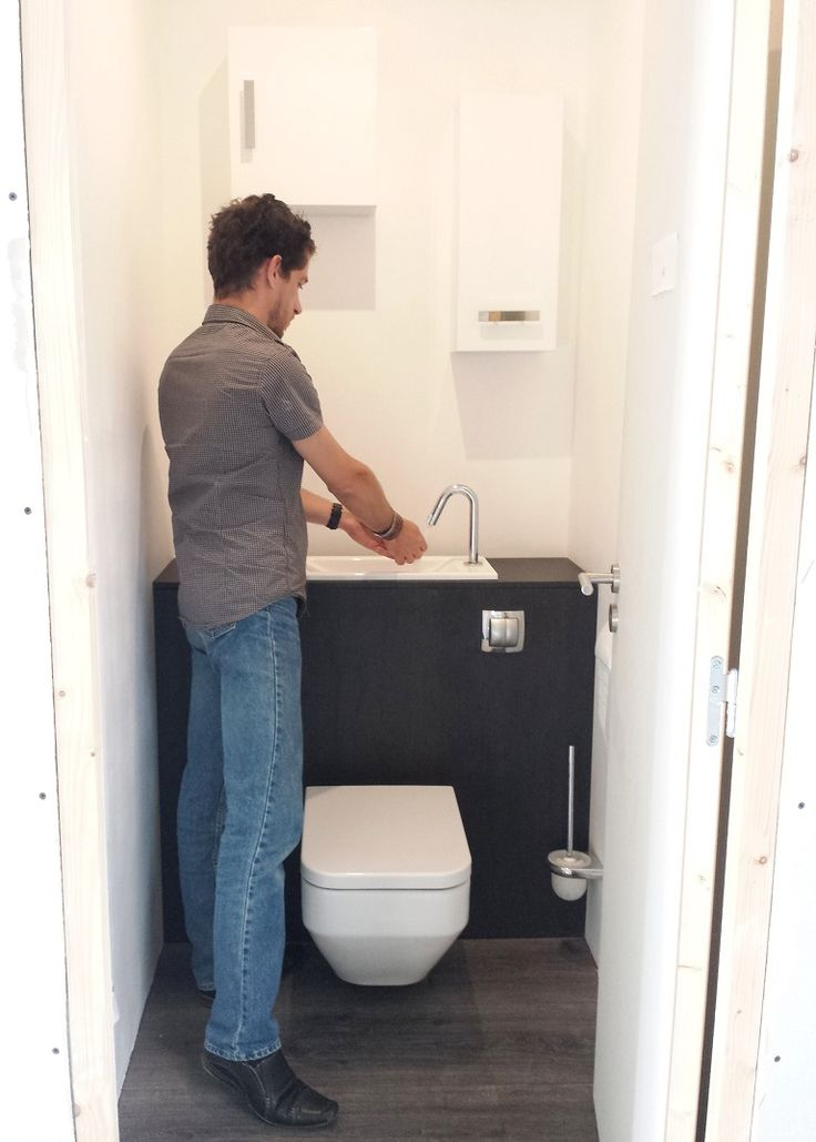 Image result for integrated toilet and sink