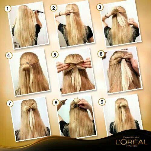 Un peinado facil y practico