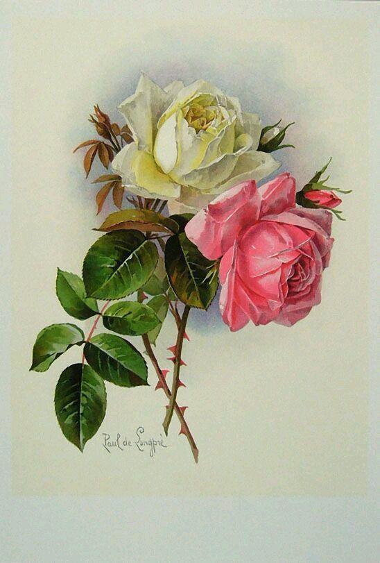 Открытка розы в конвертер, открытки осени