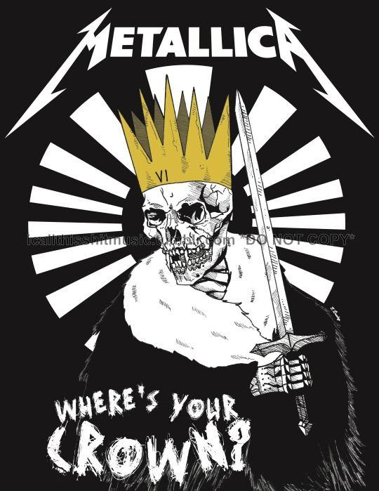 Metallica's poster