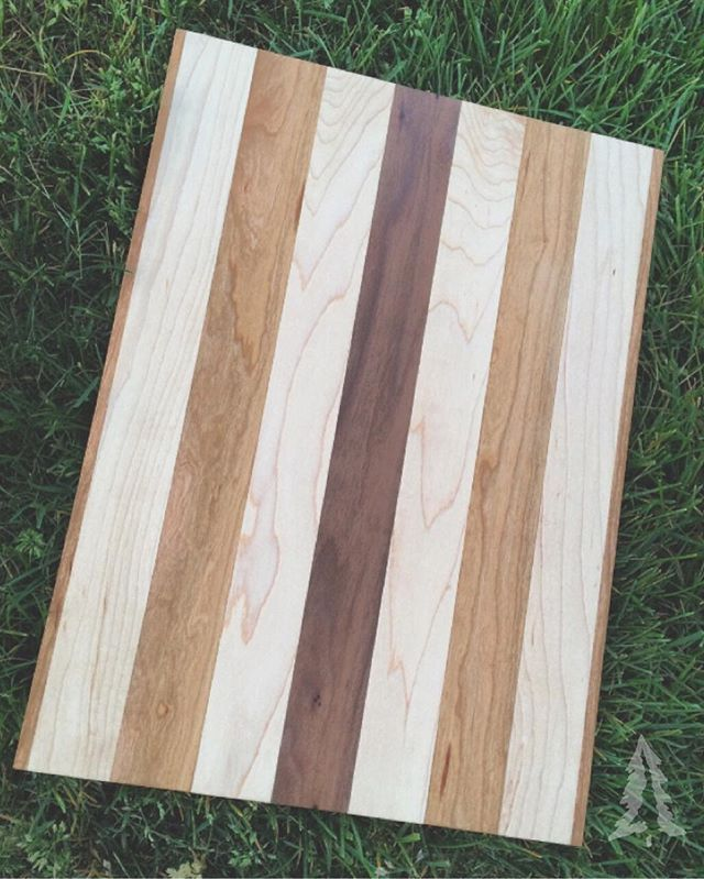 As smooth as it is simple. My favorite board to date. #RemarkableWoodworks