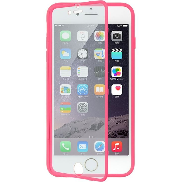 DW Wrap-up w/ Screen Protector iPhone 6/6S Plus (5.5) Case - Hot Pink