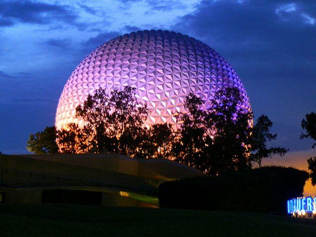 Epcot Disneyworld in Orlando, Florida