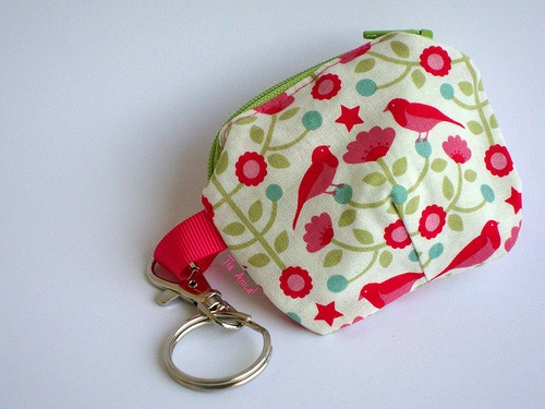 Key holder with coin purse