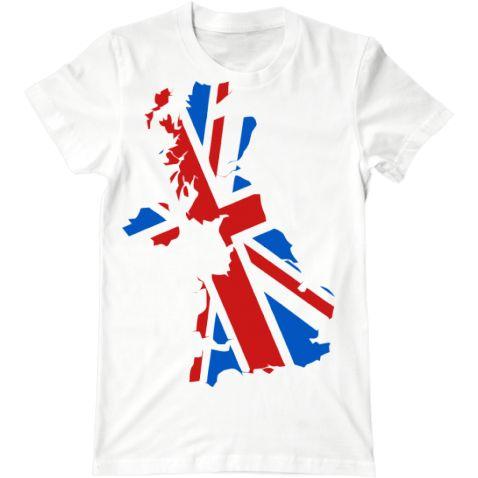 Мужская футболка Флаг Великобритании от интернет-магазина hipster.vmayke.org