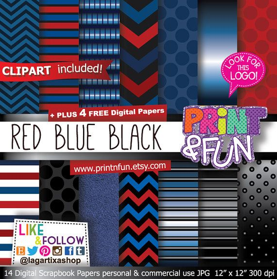 #digitalpaper #partyprintables #imprimibles #scrapbooking #backgrounds #patterns #fondos #fiestasinfantiles #fiestastematicas #invitations #invitaciones #partyideas #clipart #png #birthdayparty  #spiderman #superheroes #marvel Red Blue Black Digital Paper Patterns Metallic Red por Printnfun