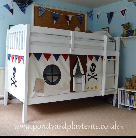 Tente de lit pirate - Tente de lit garcon ...