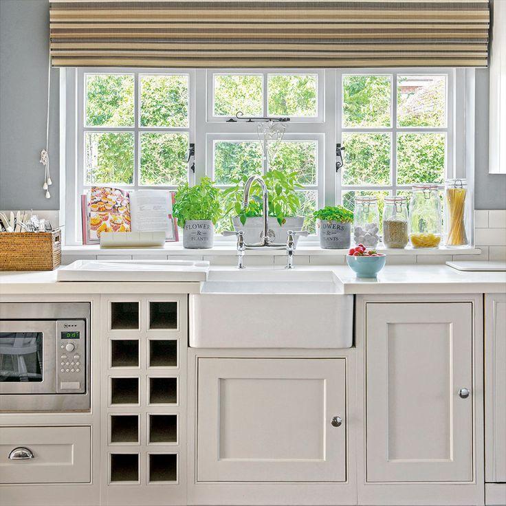 Grey And White Country Kitchen 102 best kitchen images on pinterest | cottage kitchens, kitchen