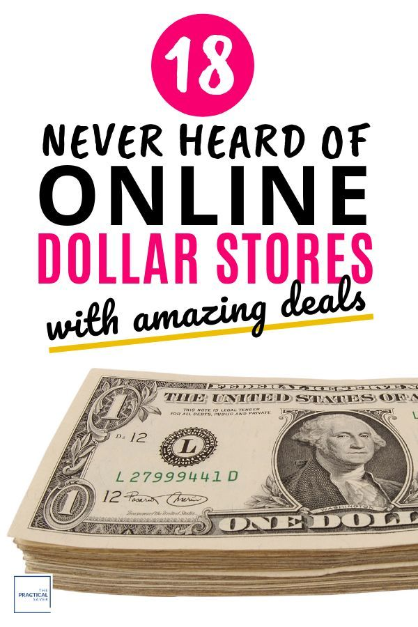 18 Online Dollar Stores with Amazing Deals