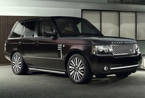 Range Rover...Black on Black...