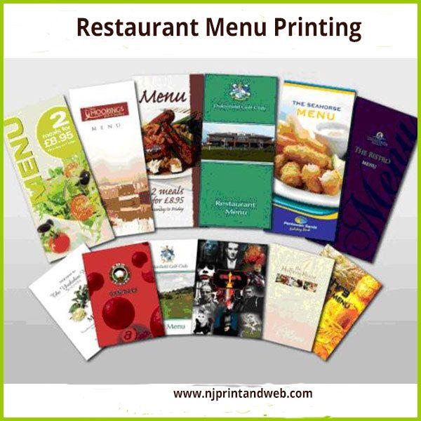Best Restaurant Menu Printing Images On   Menu