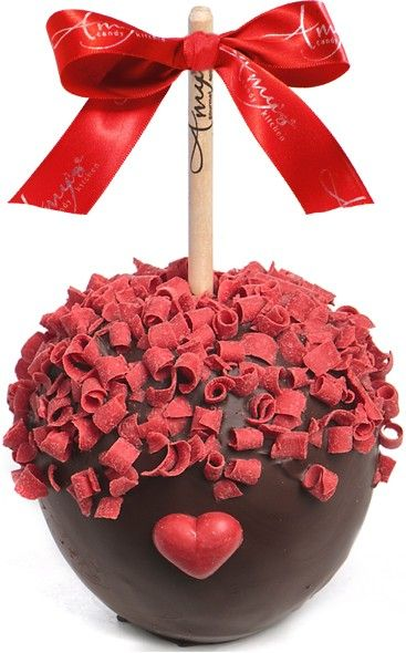 Sweetheart Curls Caramel Apple w/ Dark Belgian Chocolate