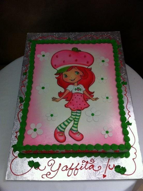 Strawberry Shortcake Birthday cake.