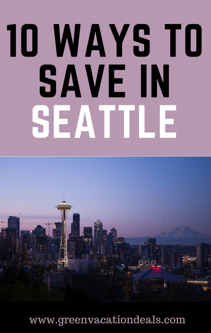 Planning a trip to Seattle? Before you finish your vacation planning, check out these great Seattle hotel deals and find the best ways to save on your Seattle trip. Must see when making Seattle travel plans.