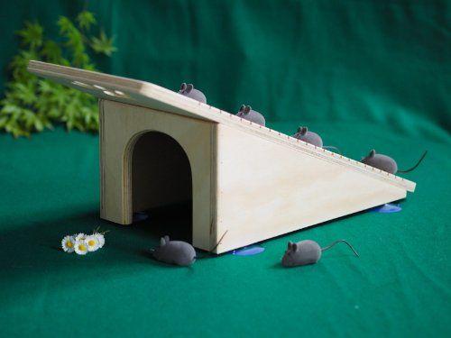 Casa para Gatos con Rascador de Blitzen
