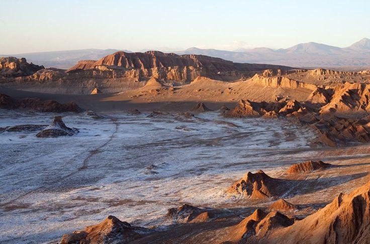 Valle de la Luna, Deserto do Atacama- Chile