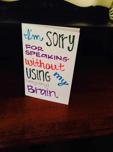 11 best Apology/I'm Sorry cards & ideas images on ...