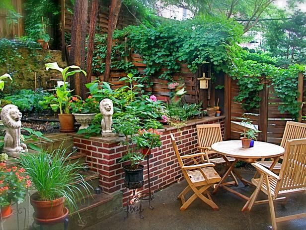 Our favorite outdoor spaces from hgtv fans shade garden patio and decks - Balcony design for small spaces pict ...