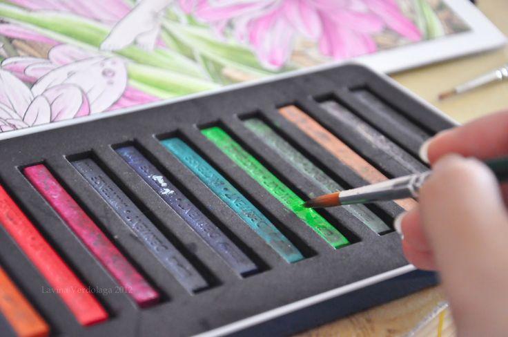 Pencil Paint: Derwent Inktense Blocks Review