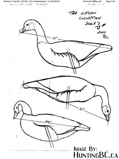 Homemade Geese