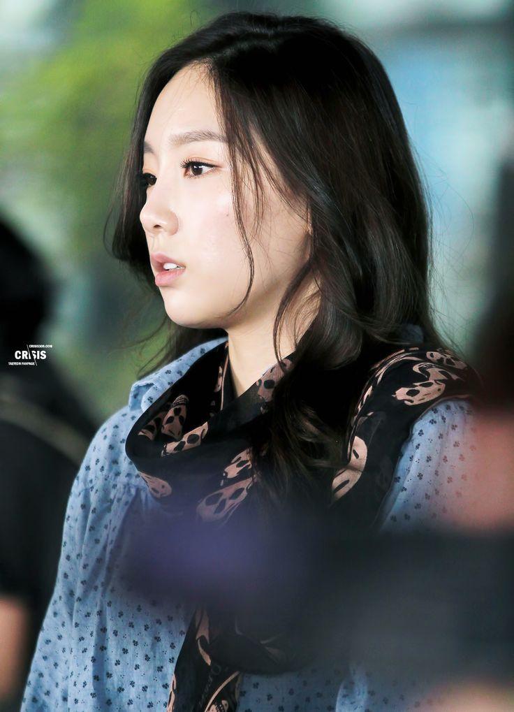 Jessica Snsd Black Hair SNSD Taeyeon ai...
