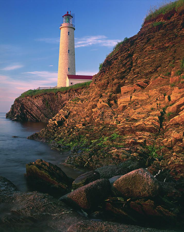 ✮ Lighthouse - Gaspesie Region, Cap-des-Rosiers, Quebec
