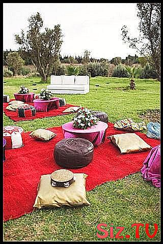 40 d co inspirations for a Moroccan wedding rep # layout # deco #decoration_marriage_marocain # exterior