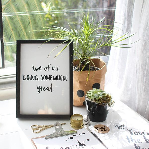 Peach & Co - Two Of Us Print... from $25