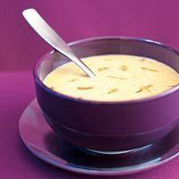 Recept - Romige mosterdsoep met gemberreepjes - Allerhande