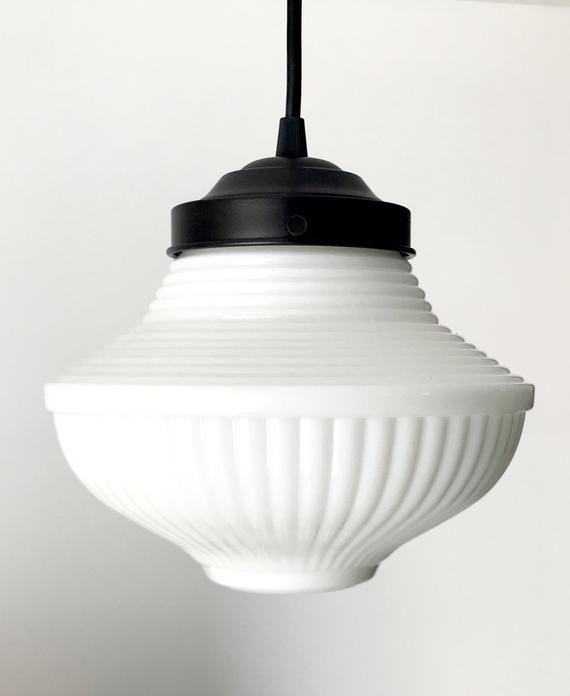 Milk Glass Traditional Pendant Light Ceiling Lighting Hanging Lamp Farmhouse Repurposed Country Flush Mount Kitchen Glass Lampgoods With Images Traditional Pendant Lighting Ceiling Pendant Lights Milk Glass Lamp