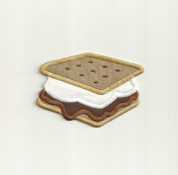 Hey, I found this really awesome Etsy listing at https://www.etsy.com/listing/173930887/smores-patch-custom-made