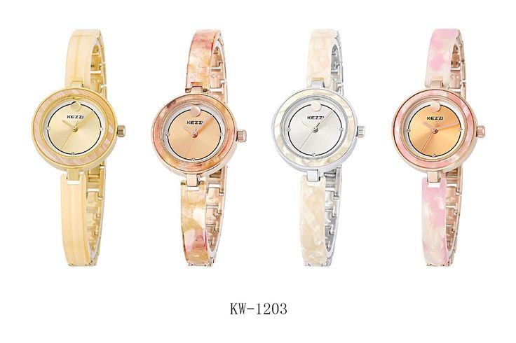 New KEZZI Exquisite Women's Watch Girls Ladies Lovely Bracelet Watch Quartz Wristwatches Waterproof relogio feminino KW1203