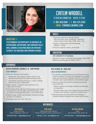22 best Modern Resumes images on Pinterest Boxes, Creative and - modern resumes