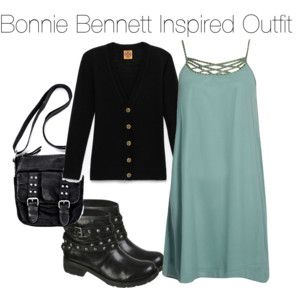 Bonnie Bennett Inspired Outfit