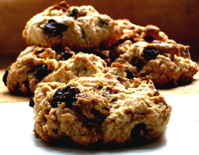 Text based recipe fro rock buns in a step by step flow chart. Totally editable, allowing picture or symbol support to be added if necessary.