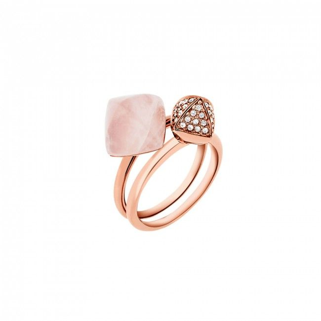 Rose Gold Michael Kors Zircon Ring