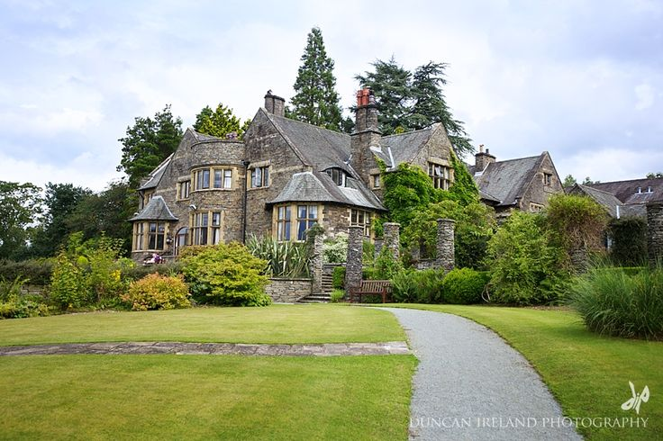 Lake District Wedding Venue | The Cragwood Hotel on the banks of Lake Windermere - gorgeous setting, lovely lush gardens, oh and quite a famous lake just on the doorstep! Lots to go at for a wedding photographer.