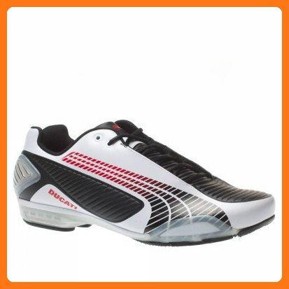 Puma - Testastretta Iii Ducati - 30360301 - Color: White-Black - Size: 8.5 (*Partner Link)