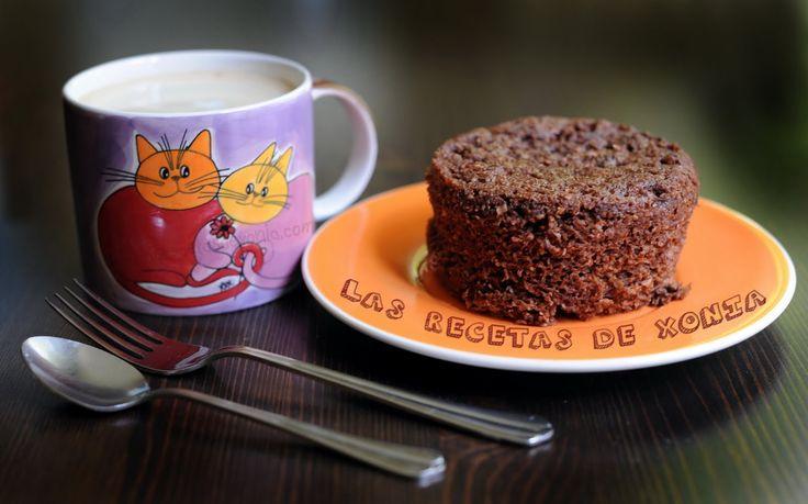 Las Recetas de Xonia ... para Dukan: BIZCOCHO EXPRESS DE CHOCOLATE