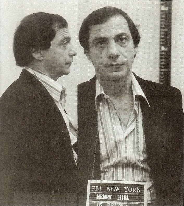 GOODFELLAS HENRY HILL RAY LIOTTA FBI WANTED POSTER PHOTO MOBSTER MAFIA GANGSTER