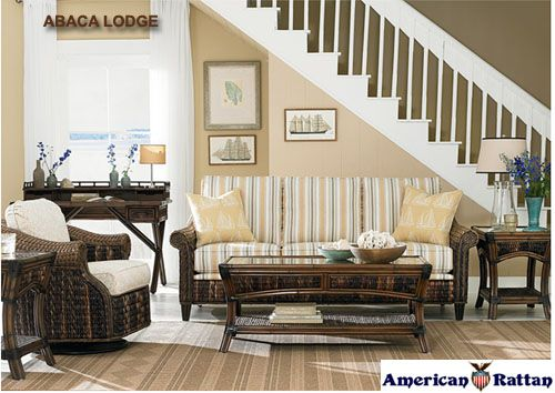 Abaca Lodge Living Room Set and Individual Pieces | Capris Furniture Living Room Series 690