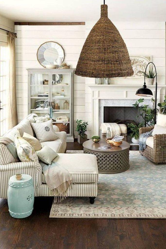 36 Best Summer Farmhouse Decor Ideas For Living Room Modern